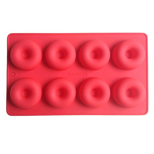 LYNCH Donut geformte 3D-Silikon-Kuchen-Form Kochen Tools Fondant Schokoladen-Form