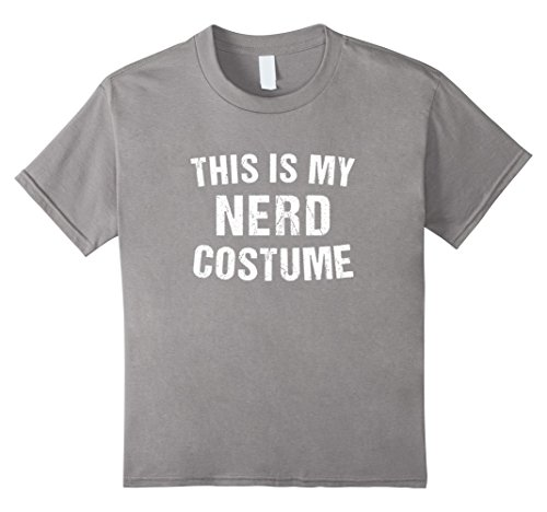 Kids Nerd Costume Geek Halloween T Shirt for Men Women Boy Girl 12 (Geek Girl Costumes For Halloween)
