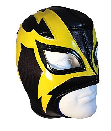 Del Mex Lucha Libre Adult Luchador Mexican Wrestling Mask Costume (Shocker -