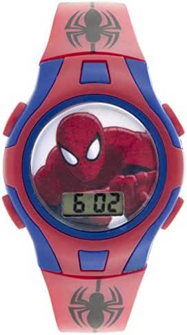 Marvel Boy's Swiss Automatic Plastic Casual WatchMulti Color (Model: SPMKD591)