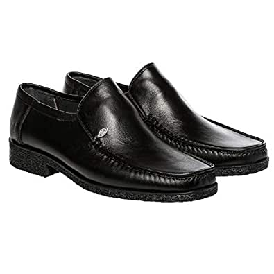 Class Man Black Loafers & Moccasian For Men