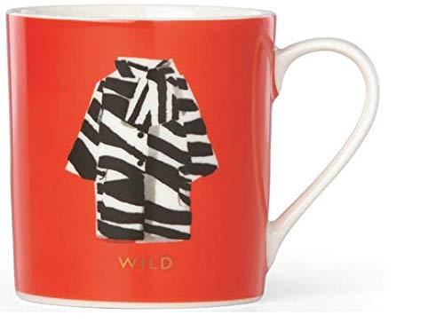 (Kate Spade Things We Love Mug (Zebra Coat))