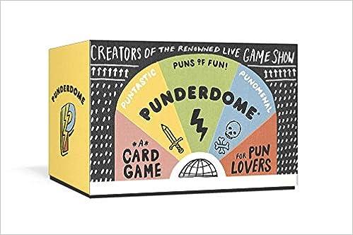 Punderdome Pun Card Game