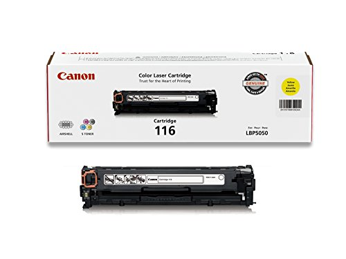 Canon Original 116 Toner Cartridge - Yellow