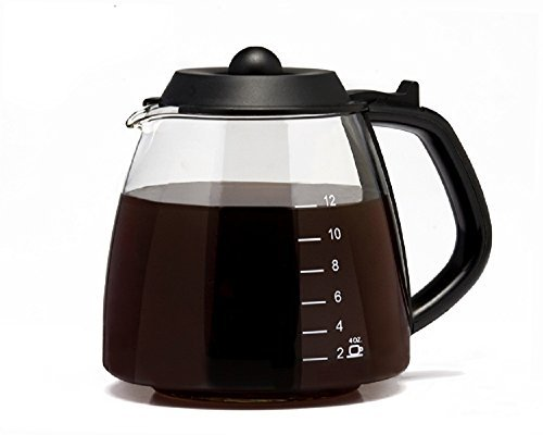 CAFÉ BREW COLLECTION 12 Cup Replacement Carafe for most Cuisinart, Mr. Coffee, Bunn, etc ()