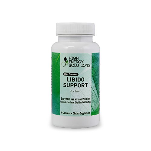 Soluciones de alta energía Libido ayuda _ un Booster Natural / potenciador para hombres 60 cápsulas