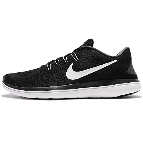 Nike Mens Flex 2017 RN Running Shoes Black/White/Anthracite/Cool Grey 9.5 D(M) US