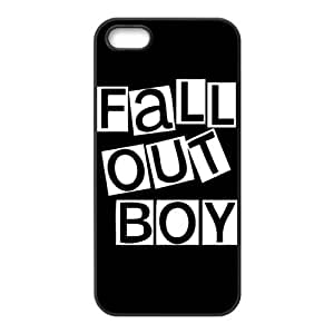 Fall Out Boy Pattern Design Solid Rubber Customized Cover Case for iPhone 4 4s 4s-linda406