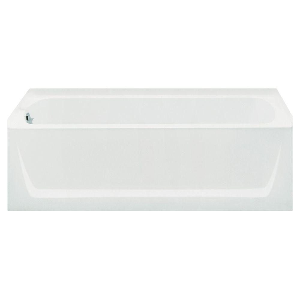 Sterling Plumbing 71121110-0 Ensemble Bathtub, 60-Inch x 32-Inch x 18-Inch, Left-Hand, White by Sterling Plumbing