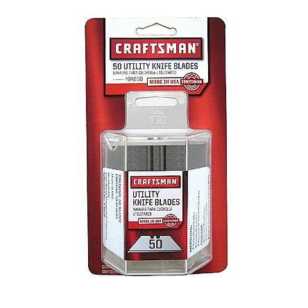 Craftsman 2-notch Utility Knife Blades, 50 pk.