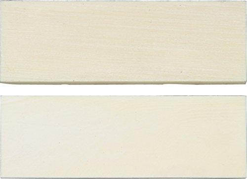Miscellaneous Knife Scales, White Smooth Bone