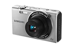 Samsung EC-SH100 Wi-Fi Digital Camera with 14 MP, 5x Optical Zoom and Touchscreen (Silver)