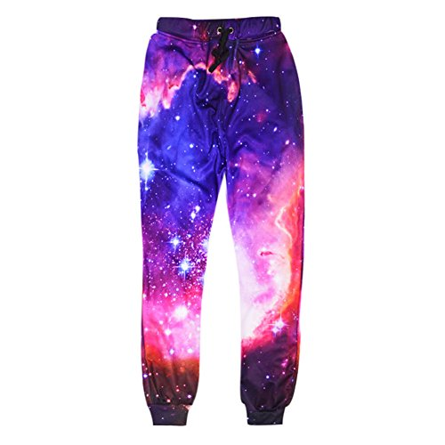 Dorathy Women Men Joggers Pants 3D Galaxy Space Hip Hop Trousers Punk Sweatpants