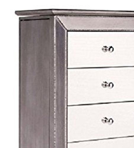 Hives and Honey Mia Jewelry Armoire, Metallic Silver by Hives and Honey (Image #11)