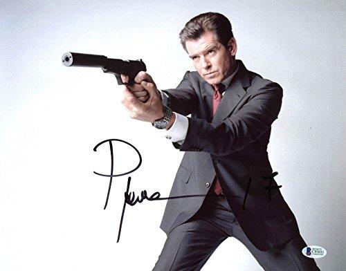 - Pierce Brosnan James Bond 007 Signed 11x14 Photo Autographed BAS 3 - Beckett Authentication