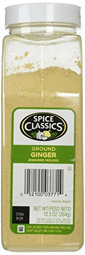 Spice Classics Ground Ginger, 12.5 Ounce (Mccormick Ground Ginger)