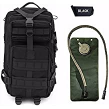 Niree Motorbike Backpack Motorcycle Bag Outdoor Sports Riding Package 25L Black With 3 Liter Hydration Water Bladder System For 2004-2007 2008 2009 2010 2011 2012 Honda CBR 1000RR