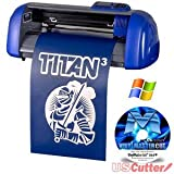 USCutter Table TITAN 3 - 15'' Craft Vinyl Cutter w/ Contour Cutting + Design & Cut Software