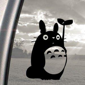 4 opinioni per Adesivo motivo Totoro, colore Nero, studio ghibii, da auto, finestra Sticker