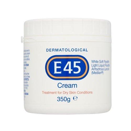 E45 Dermatological Cream Treatment for Dry Skin Conditions (350g) by (E45 Bath)