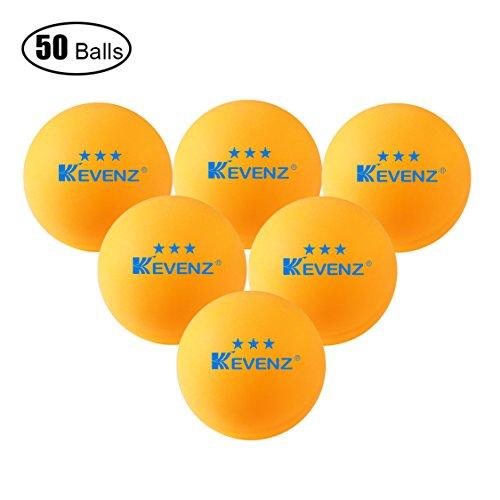 50-Pack-KEVENZ-3-Star-40mm-Orang-Table-Tennis-BallsAdvanced-Training-Ping-Pong-Balls-Practice-ping-pong-Ball