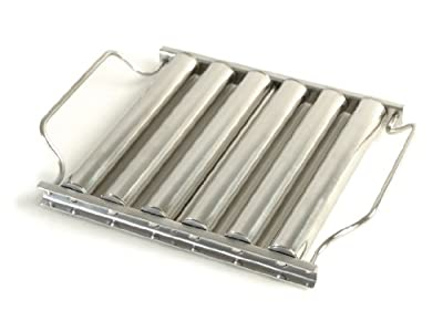Charcoal Companion Stainless Steel Hot Dog of Sausage Roller Rack