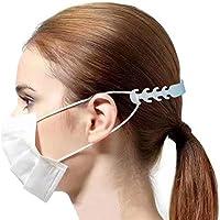 10 Piezas Gancho de extensión para Orejas Extensión, Hebillas de Cuerda de extensión ajustador de protección para los oídos