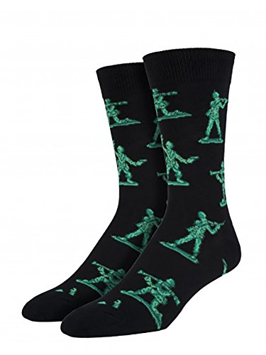 Socksmith Army Men Black One Size - coolthings.us