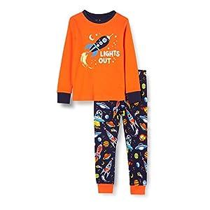 Hatley Boy's Organic Cotton Long Sleeve Appliqué Pyjama Sets