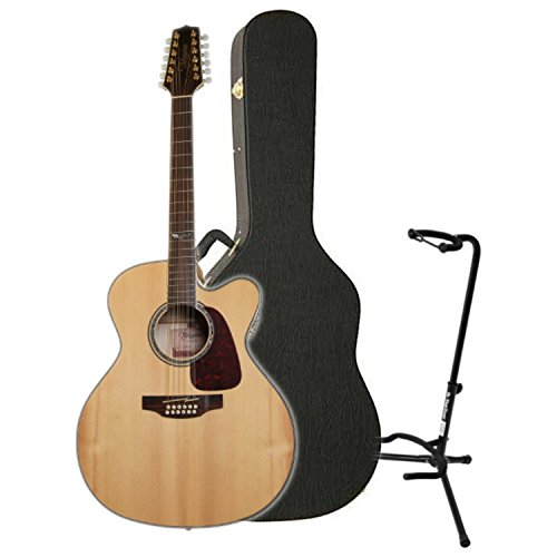 Takamine GJ72CE-12NAT Jumbo Cutaway 12-String Acoustic-Electric Guitar