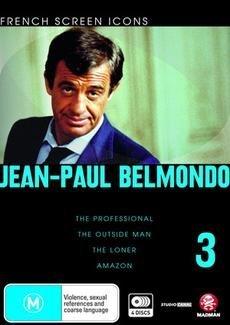 Jean-Paul Belmondo - Vol. 3 (French Screen Icons) - 4-DVD Set ( Le professionnel / Le marginal / Le solitaire / Amazone ) ( The Professional / The Out [ NON-USA FORMAT, PAL, Reg.4 Import - Australia ]
