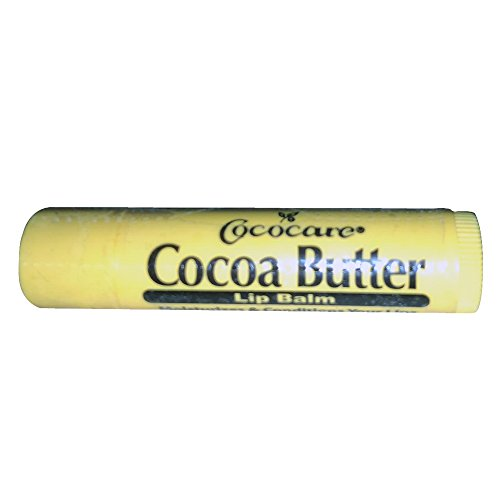 Cococare Cocoa Butter Lip Balm 0.15 oz (Pack of 10)