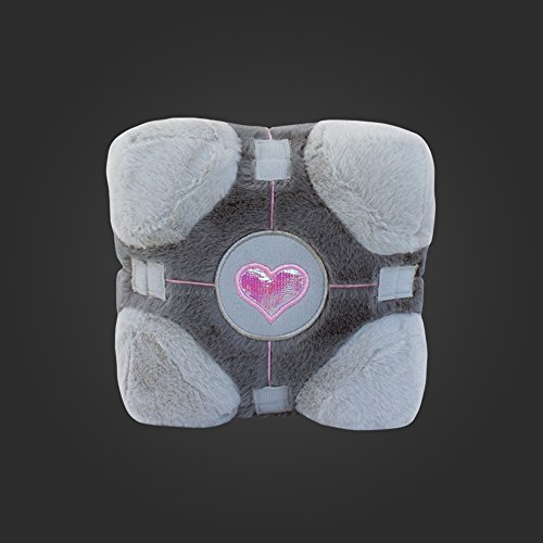 "Portal 7"" Huggable Soft Companion Cube Plush"