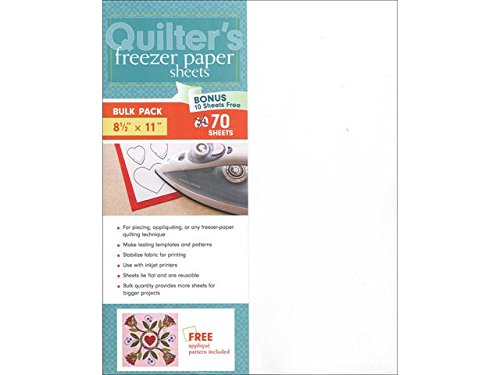 C&T Quilter's Freezer Paper Sheets 8 1/2 x 11 in. 70 pc. (70 Freezer compare prices)