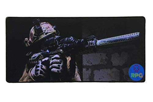 - RPG Gaming Mouse Pad, Extended Gamepad, XLarge (11.81 x 27.55) Thick Laptop Keyboard Mouse Mat Mousepad, Flexible, Super Smooth, Non-Slip Rubber Base, Double Stitched Edges, Gaming/Work Optimized