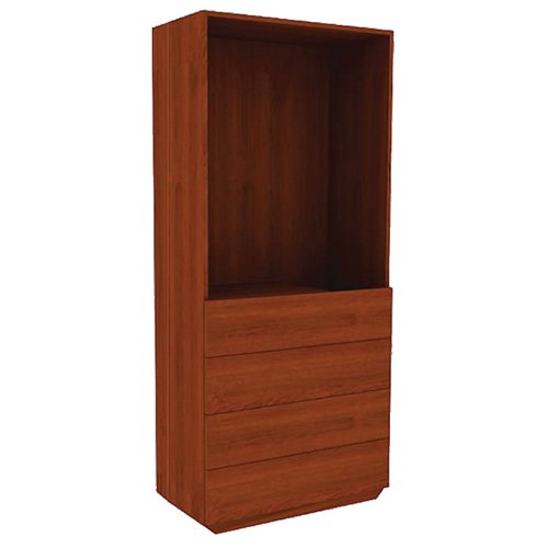 Mor-Medical International SC-Class 8 SEVILLE Collection, Wardrobe 0 Doors/4 Drawers, 72'' Height, 34'' Width by Mor-Medical International