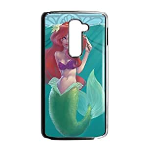 LG G2 Black phone case Disney Princess The Little Mermaid Ariel DPC5142227