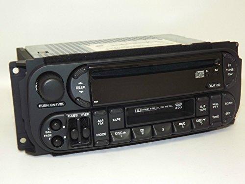 Dodge Chrysler Jeep 2002-2006 Radio - AM FM CD Cassette - P56038555AM - RBP Cd Changer Control Model