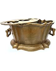 Golden Ice Bucket Epernay French Alfred Gratien Champagne Cast Aluminum