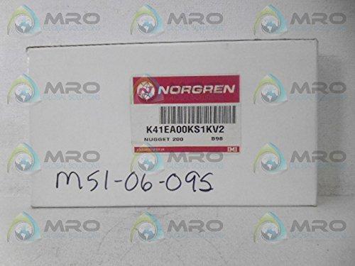 Internal Pilot Non Detent 3 Way Norgren K41EA00KS1KV2 SOL//SPR Valve
