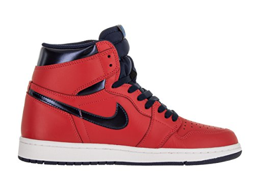 Bl OG Chaussures Crmsn 1 Lt wh Rouge Sport unvrsty de Retro NIKE Rojo Taille High Nvy Homme Jordan Basketball Air Mid xFWqwHf