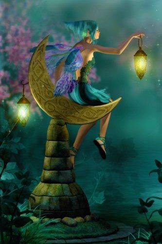 Lantern Moon Fairy Grid Notebook: 150 page Grid Notebook Journal Diary (Fairyland 150 Grid Notebooks) (Volume 1)