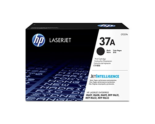 HP 37A Black Original Toner Cartridge (CF237A) by HP