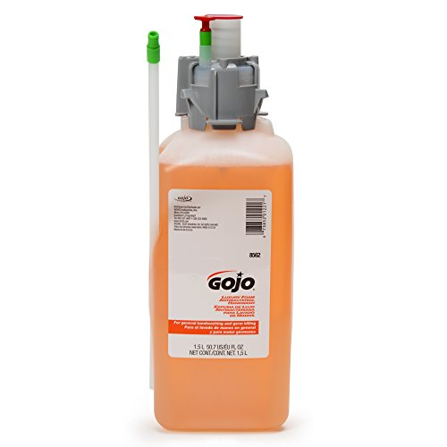 1,500 Ml Refill (GOJO (8561-02) Luxury Foam Handwash 1500 mL Refill for CX Dispenser Cranberry Liquid,Compatible with Dispenser #8520-01, 8500-01,)