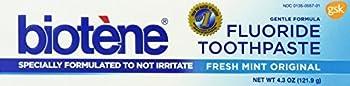 Biotene Toothpaste, Fresh Mint, 4.3 Ounce (Pack of 6) ,Biotene-wf