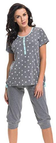 dn-nightwear - Pijama entero - para mujer Grau Mint