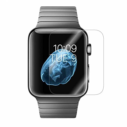 Apple Watch Screen Protector, Ponanic Anti-Bubble Ultra HD Full Coverage Screen Protector for Apple Watch 42mm – Clear 2-Pack by Ponanic