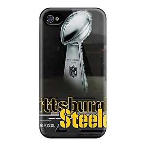 Excellent Hard Phone Case For Iphone 6 With Unique Design Colorful Pittsburgh Steelers Skin TanyaCulver