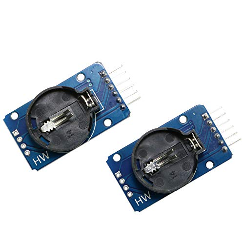 (Magic&shell 2PCS DS3231 AT24C32 IIC High Precision Real Time Clock Module RTC Module for Arduino Raspberry Pi)