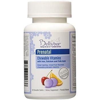 Prenatal Chewable Vitamin by Bellybar 60 tabs